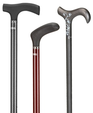 Carbon walking sticks