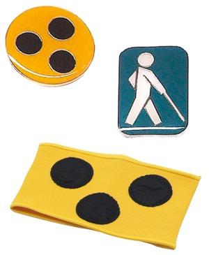Zubehör für Sehbehindertenartikel