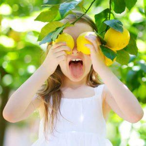 Sommerlicher Zitronenduft