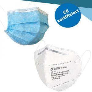 Zertifizierte FFP2 Masken, TÜV und DEKRA geprüft!